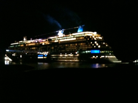 The Celebrity Reflection.