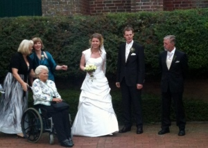 "My friend Maike (aka ""Angela"") and her husband Sorën, along with some of her family members."