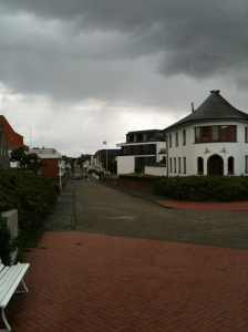 Another street view of the town.